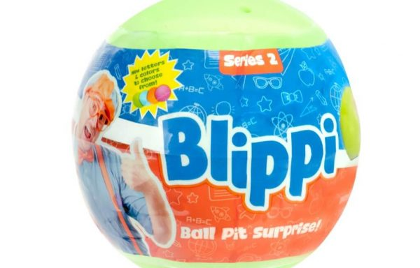 Blippi Green Ball Pit Surprise Toy Figure