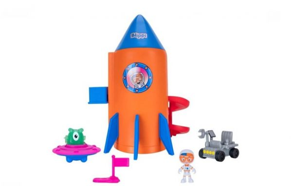 Blippi Rocket Ship Playset