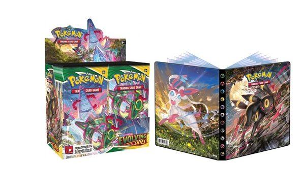 PRE-ORDER Pokemon TCG Evolving Skies Booster Bundle 2