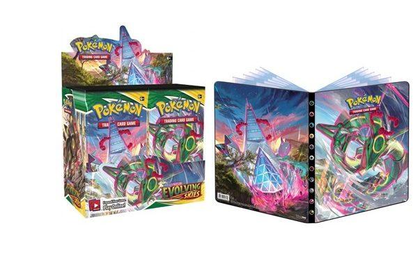 PRE-ORDER Pokemon TCG Evolving Skies Booster Bundle 3