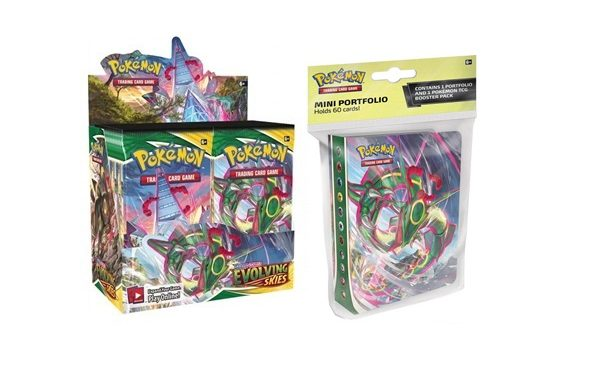 PRE-ORDER Pokemon TCG Evolving Skies Booster Bundle 4