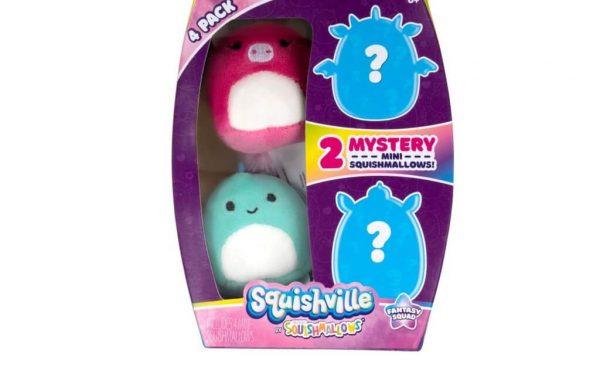 PREORDER – SQUISHMALLOWS SQUISHVILLE – Fantasy Squad Mini Plush (Squishville Mini Squishmallow 4 Pack)(Asst)