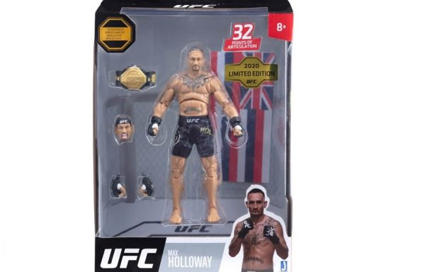PRE-ORDER UFC Ultimate Series Limited Edition Max Holloway 6″ Figure