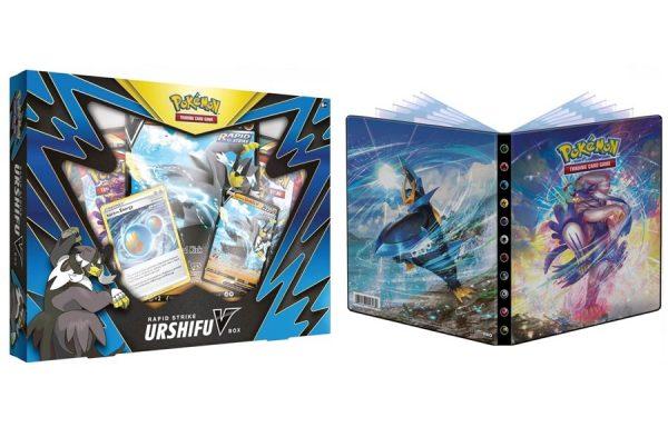 Pokemon TCG Rapid Strike Urshifu V Box and 4PKT Battle Styles