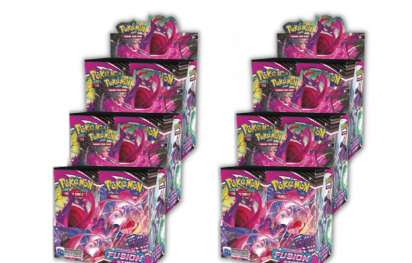 PRE-ORDER POKÉMON TCG Sword and Shield Fusion Strike Booster Box X 6 In A  Case