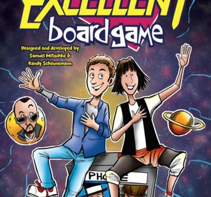 Bill and Ted Excellent Board Game