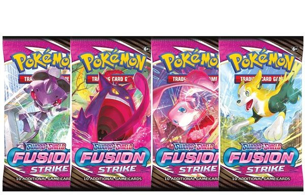 PRE-ORDER POKÉMON TCG Sword and Shield Fusion Strike Booster Pack