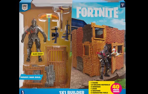 FORTNITE- 1 x 1 Builder Set (Black Knight) S1