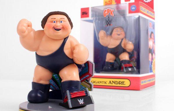 PREORDER – GARBAGE PAIL KIDS x WWE – Gigantic Andre Figure