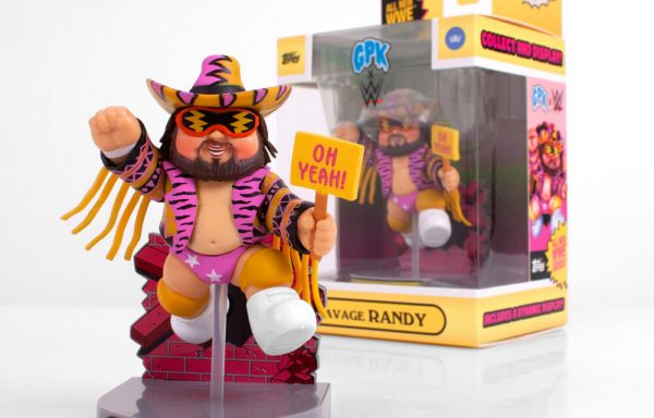 PREORDER – GARBAGE PAIL KIDS x WWE – Savage Randy Figure