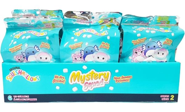 Squishmallows 5″ Mystery Squad Scented – Assorted*
