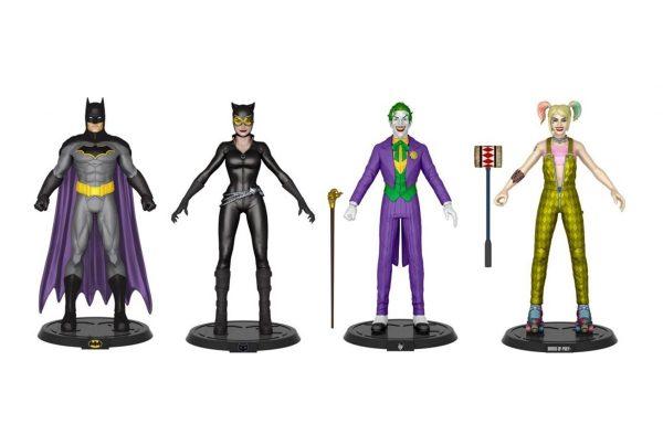 DC COMIC – Bendy Figure Set – Batman, Joker, Film Harley(BOP) & Catwoman